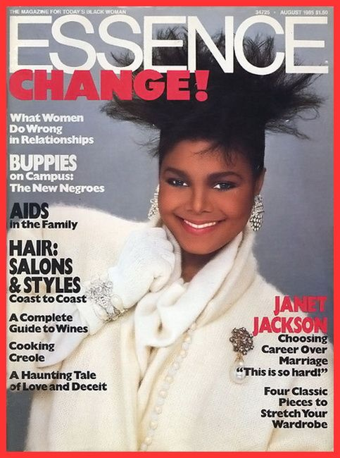 Janet Jackson :: Essence Magazine 1985