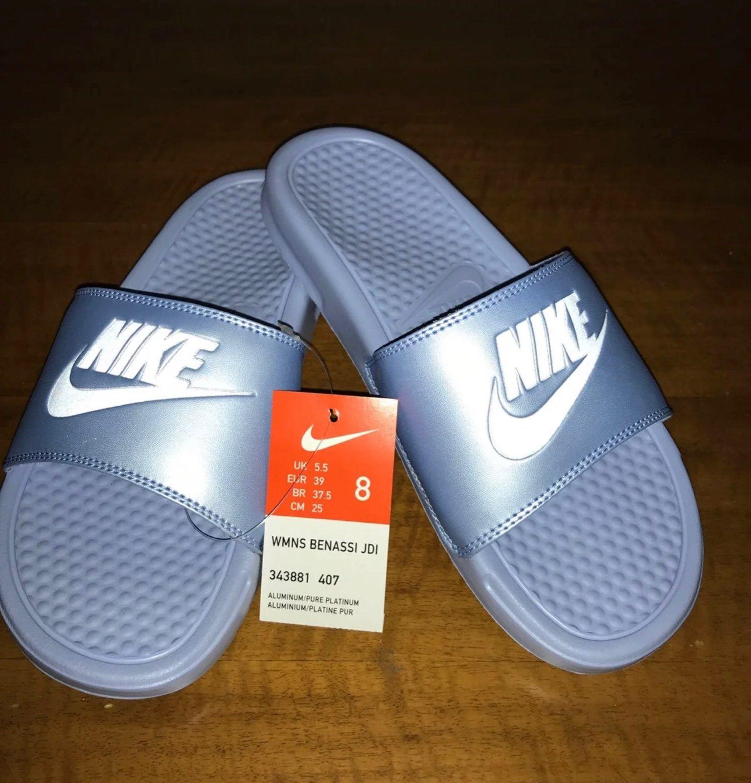 nike women's slide sandals size 8