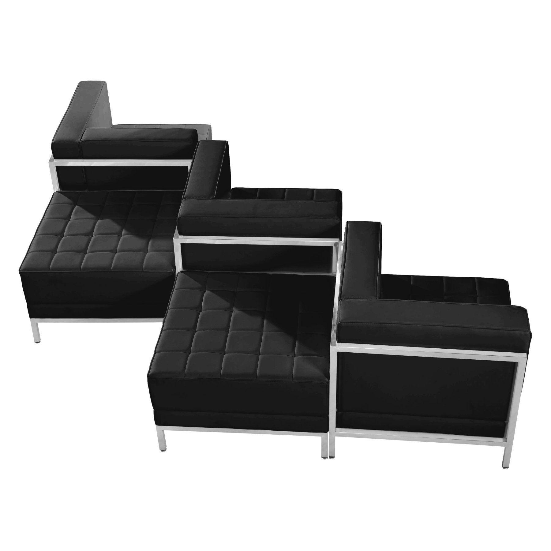 Flash Furniture Hercules Imagination Series 5 Piece Reception Chair ...
