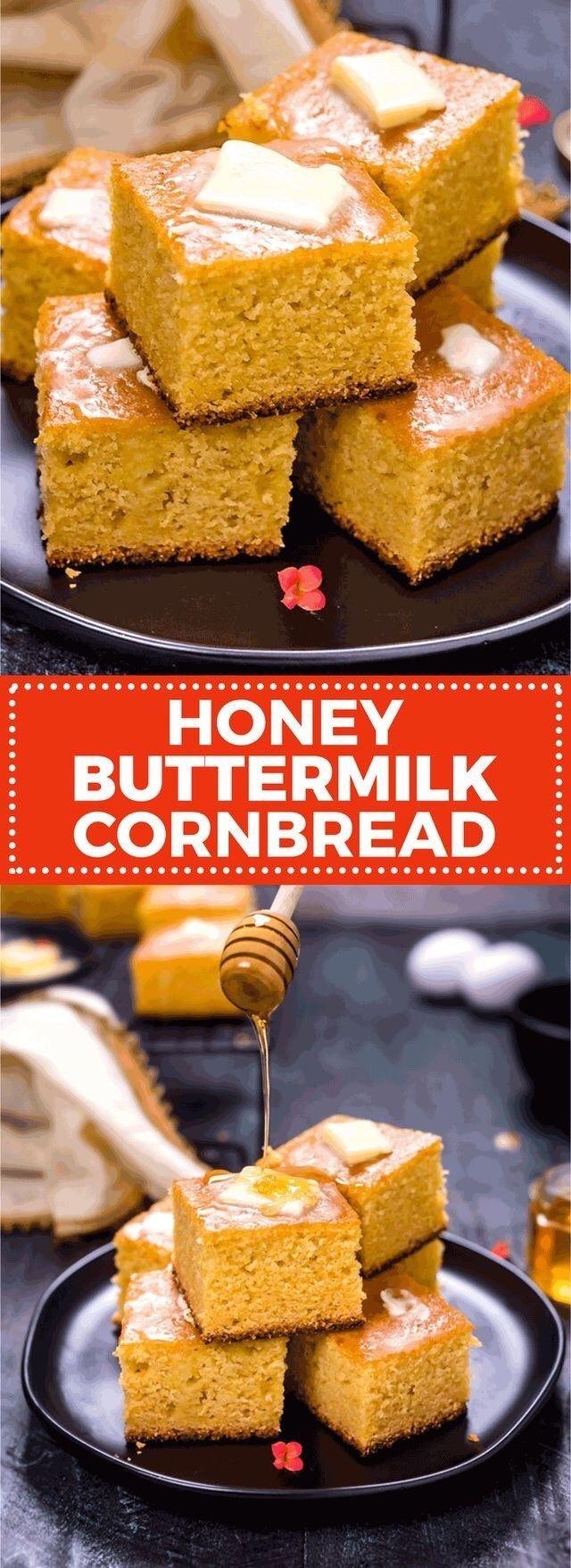 Honey Buttermilk Cornbread Host The Toast Recipe Buttermilk Cornbread Honey Cornbread Sweet Cornbread