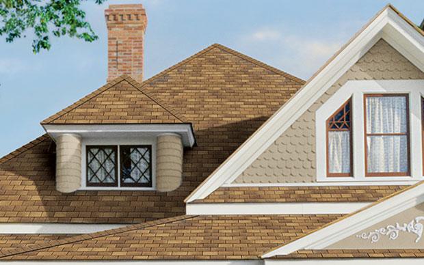 Supreme Three Tab Shingles Roof Solar Brown Roofs