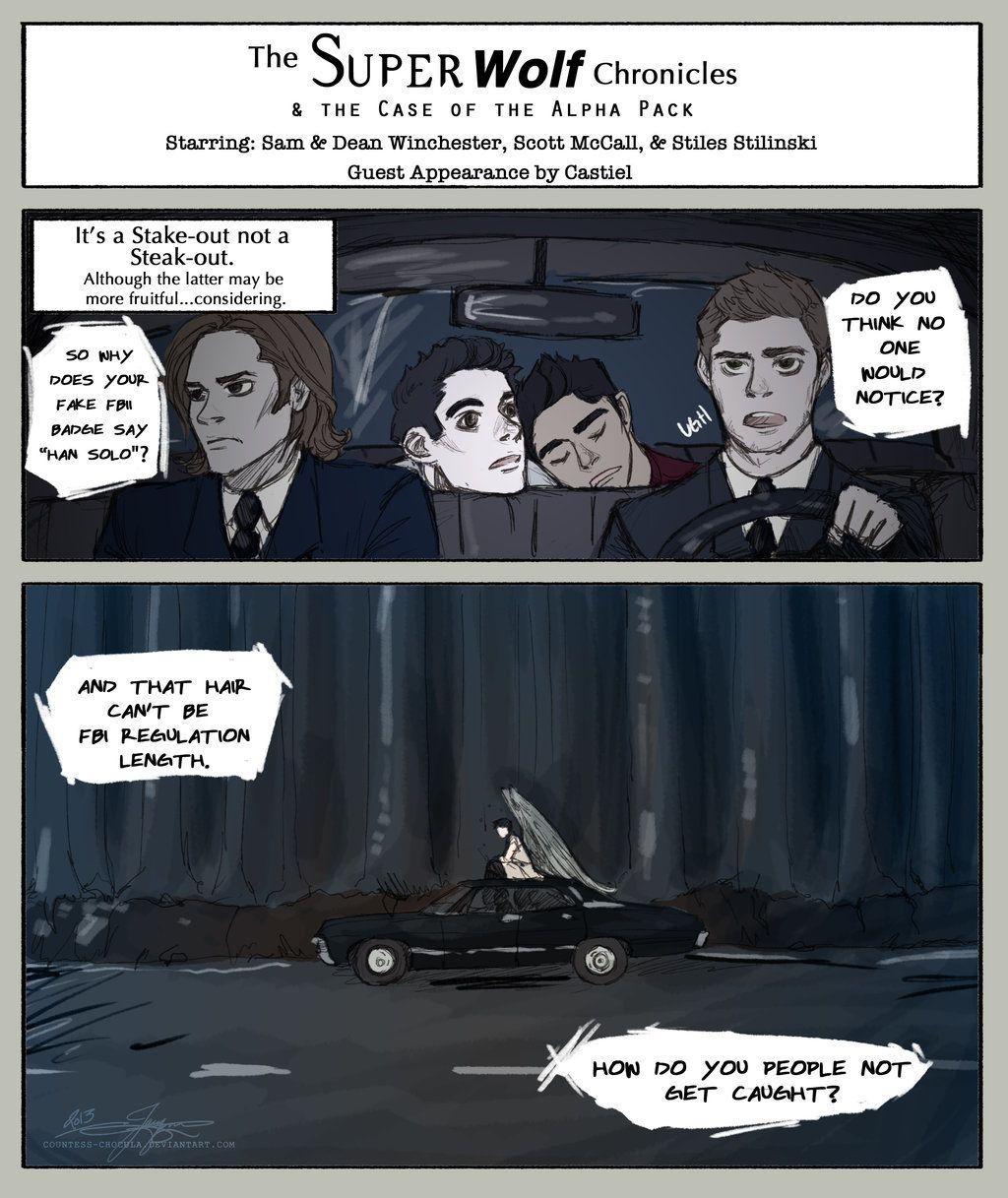 comics wolf Fakes teen
