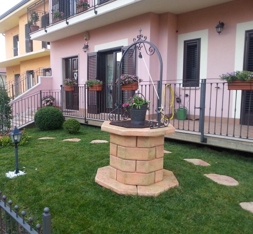 Pozzo da giardino 60 finitura pietre del borgo localit - Pozzi da giardino ...