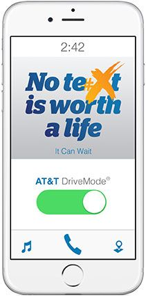 Unit 9: Perception and Attention on the Internet] AT&T DriveMode app