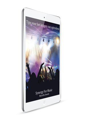 Vanaf nu is o.a. het artikel: Tips voor het krijgen van optredens digitaal te koop voor 6 euro. Hierin wordt beschreven hoe je voor optredens kan zorgen als artiest / muzikant. E-mail je naam en adres naar marcella@synergyformusic.com als je dit artikel wilt ontvangen.