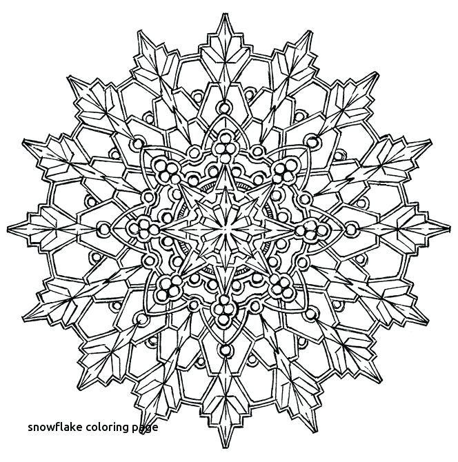 Printable Snowflake Coloring Pages Printable Snowflake Coloring