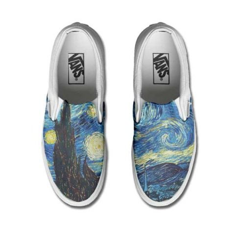 Vans Customized ART PICASSO only www.makeyourshoes.eu