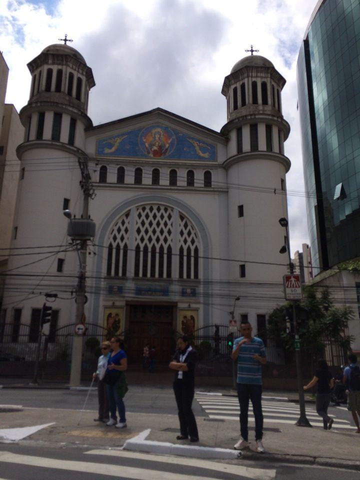 Estação Paraíso Metrô Igreja Ortodoxa Igreja São Paulo