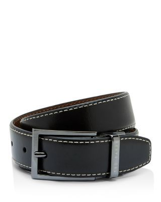 0aa2eee5a TED BAKER Reversible Stitch Leather Belt.  tedbaker  belt