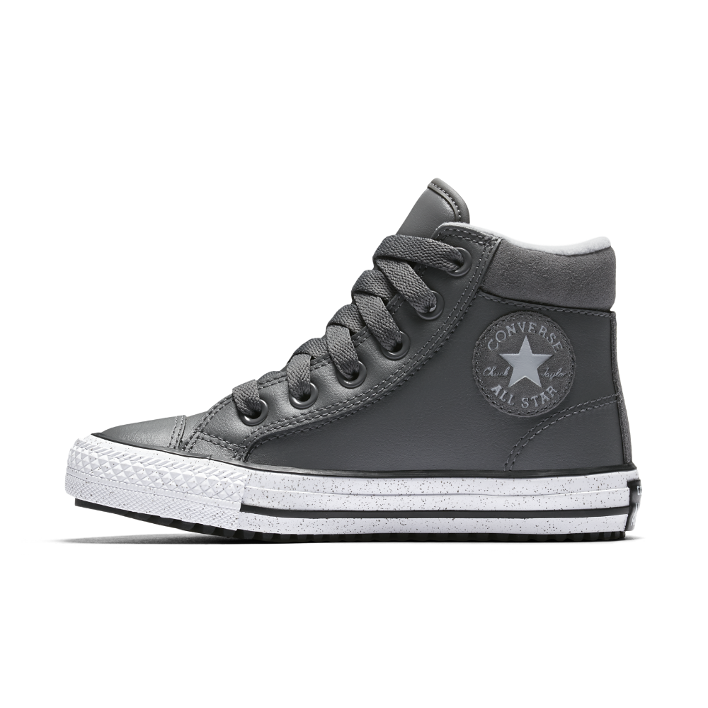 d2c630db1bd6 Converse Chuck Taylor All Star Boot PC Leather and Speckle Little Big Kids   Boot Size