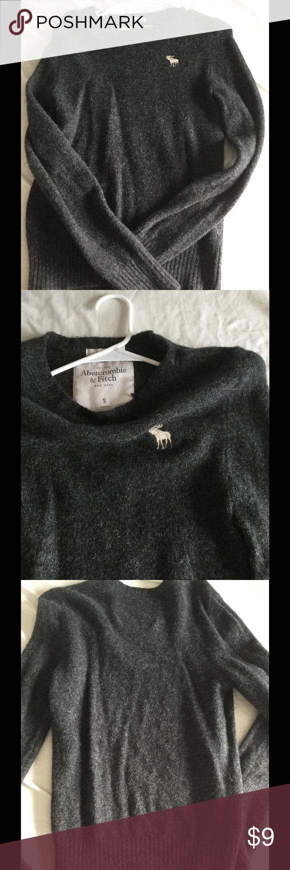Man sweater Used , in good condition,,, Abercrombie & Fitch Sweaters Crewneck