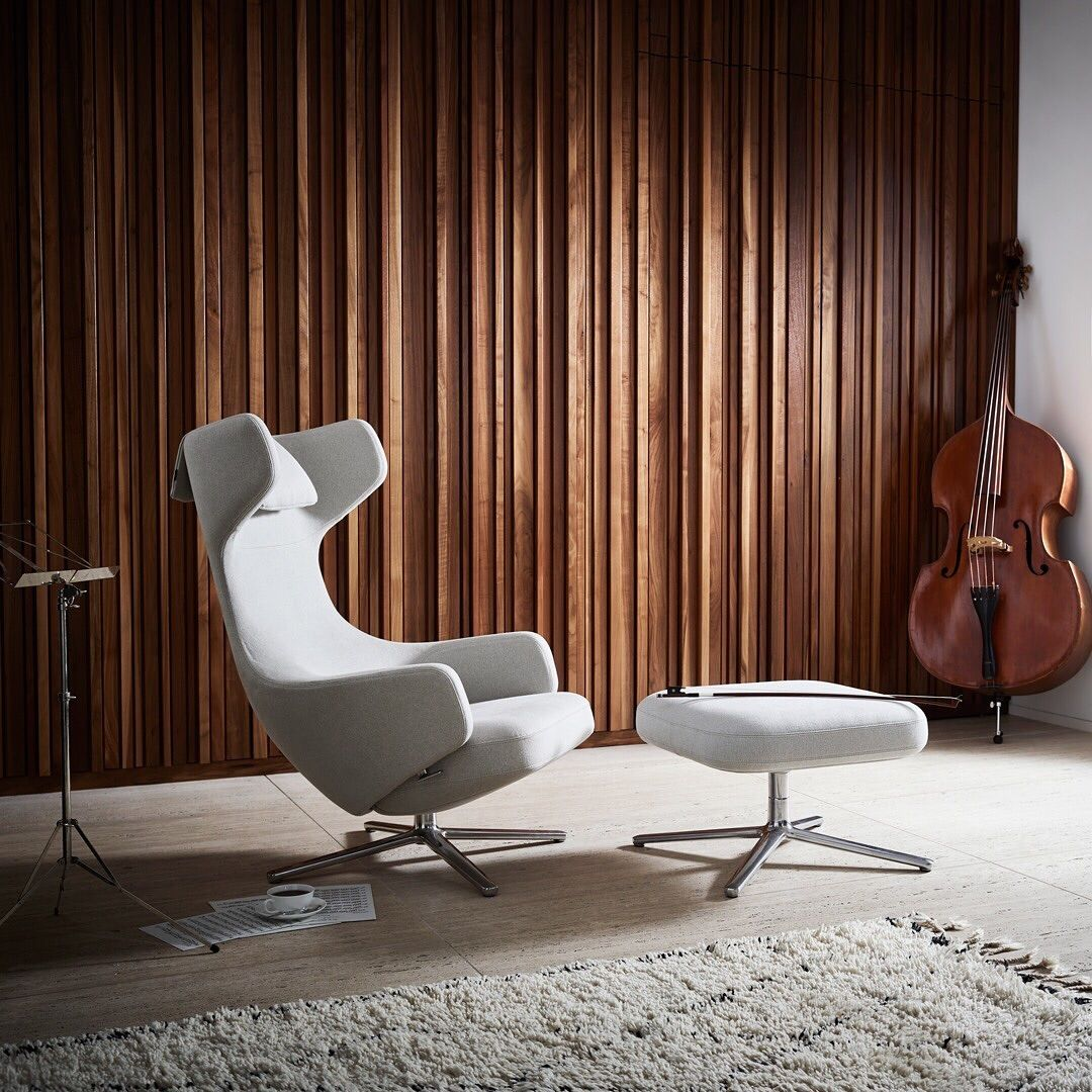 Did you know that the timeless Vitra Grand Repos lounge