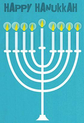 Happy Hanukkah Menorah Hanukkah Card Free Greetings Island Hanukkah Cards Happy Hanukkah Cards Free Printable Hanukkah Cards