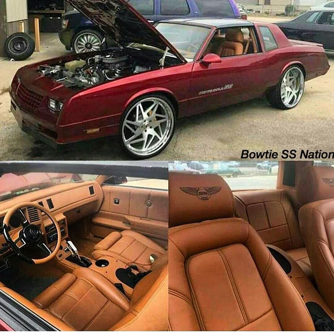 Monte Carlo Ss SuperSport Burgundy With Brown Interior
