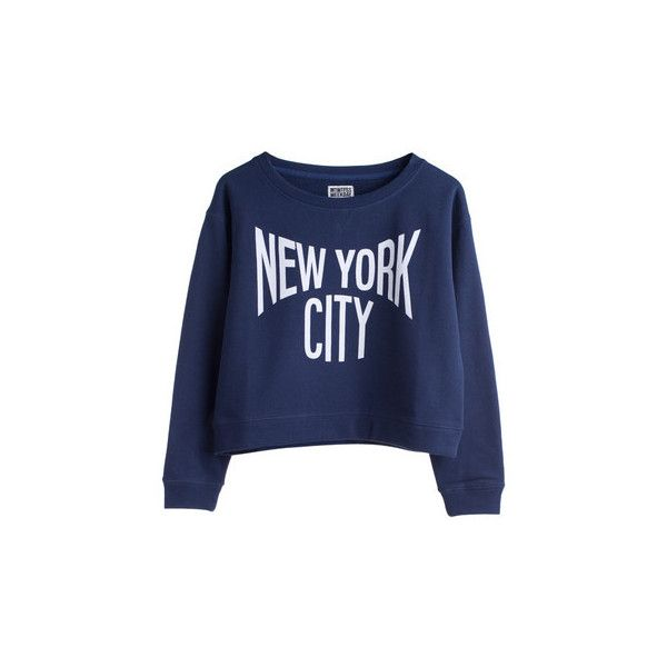 Formiga Sweater Blue | Weekday ($20-50) ❤ liked on Polyvore featuring tops, sweaters, shirts, blusas, blue sweater, women tops, shirt sweaters, henley sweater and blue top