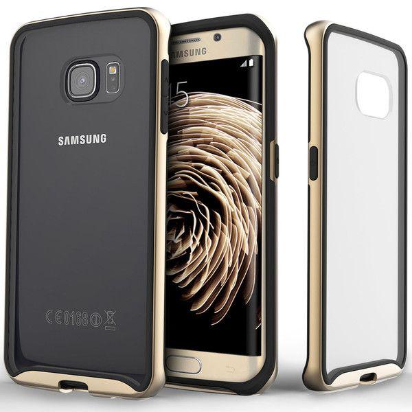 new style ef63f e7fa0 Galaxy S6 Edge Case Galaxy S6 Edge Case Waterfall - Gold | Just In ...
