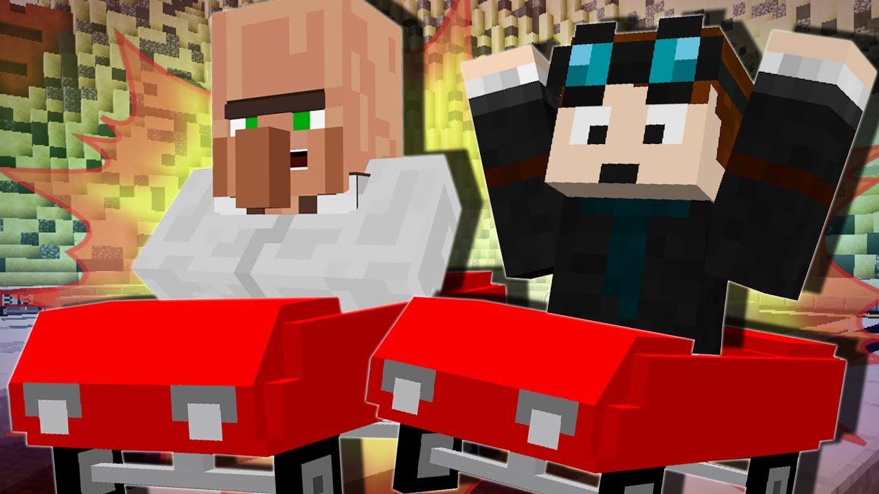 Minecraft Race Car Challenge Mod Minigame Minecraft
