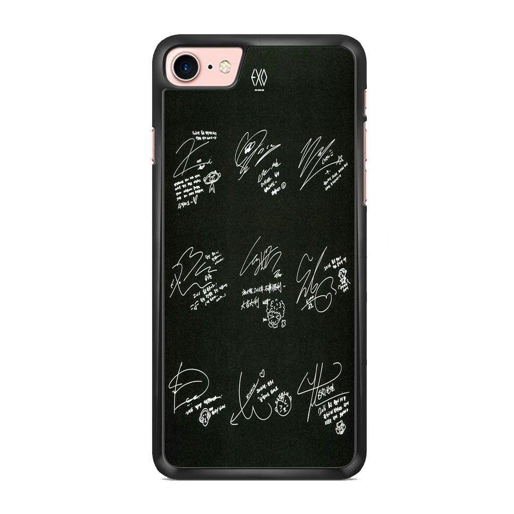 Exo Signature For Iphone 7 Acessorios Confeccoes