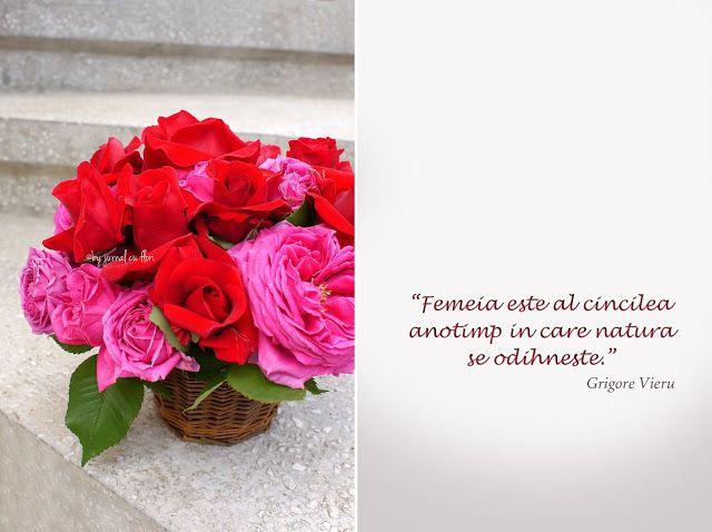 citate despre trandafiri citat despre femeie Grigore Vieru si cos cu trandafiri | citate  citate despre trandafiri
