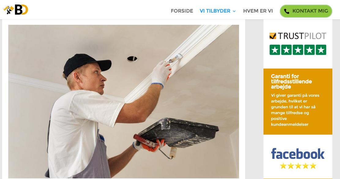 billig maler københavn