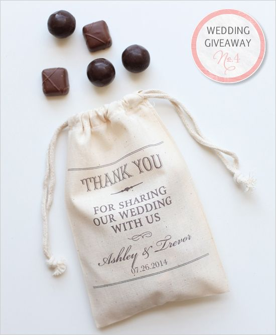 Give Away Gift Ideas For Weddings