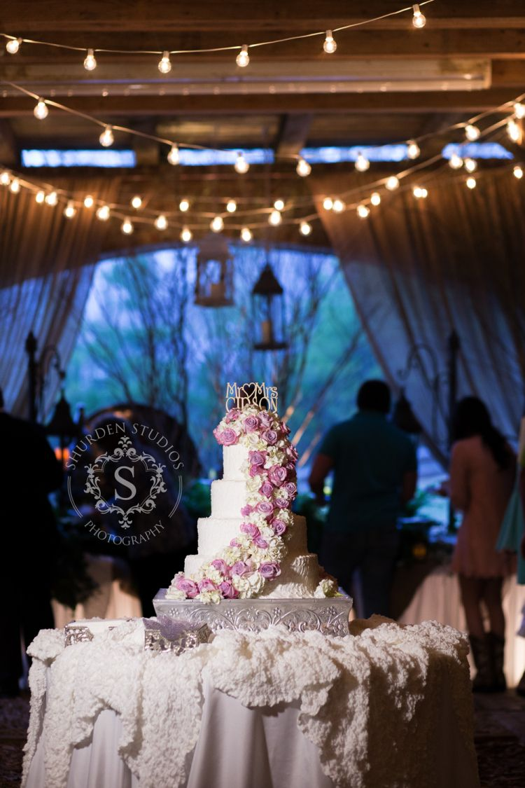 wedding cakes rome ga southern wedding reception wedding cake the farm in rome 25386