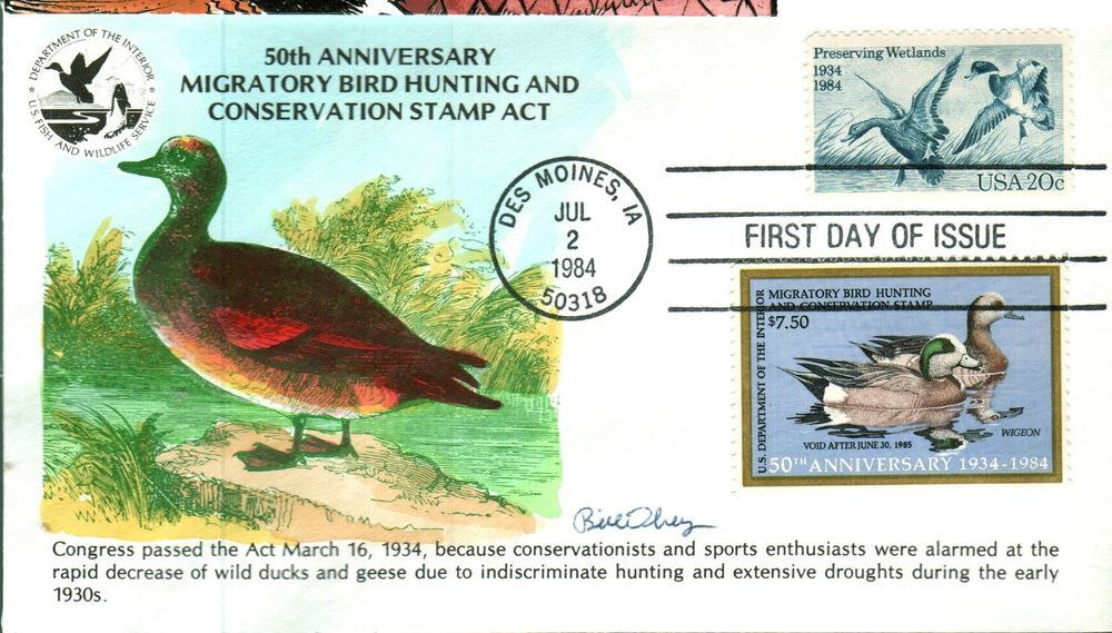 KMC Venture RW51 2083 Wildlife Conservation \ Duck STamp Double - double first