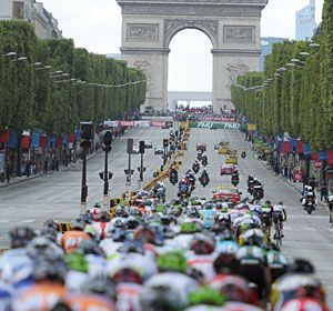 Tour de France 2012 - July 22 Paris finish