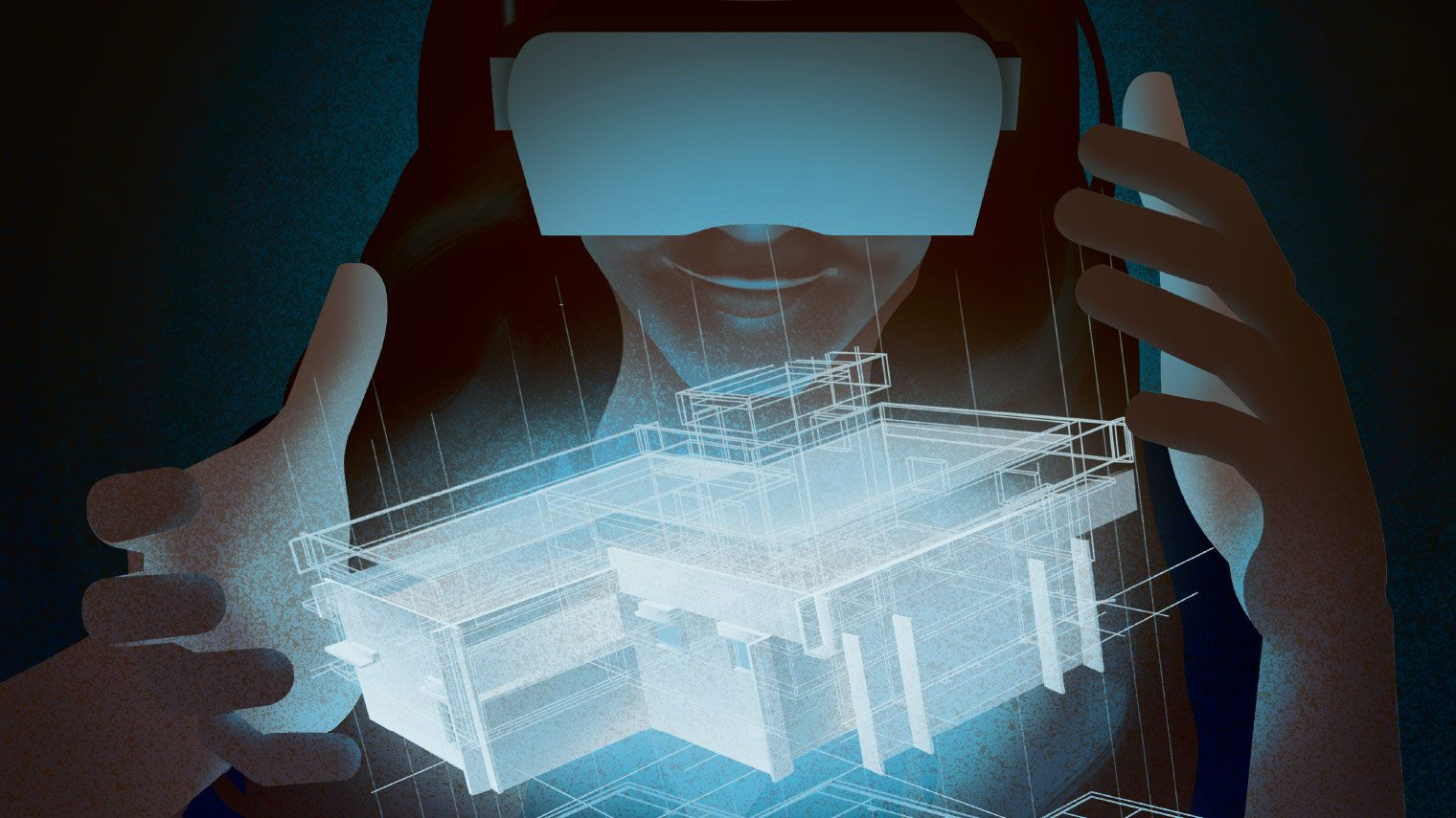 поиск товара по изображению виртуальная или дополненная реальность строили-строили достроили пытались