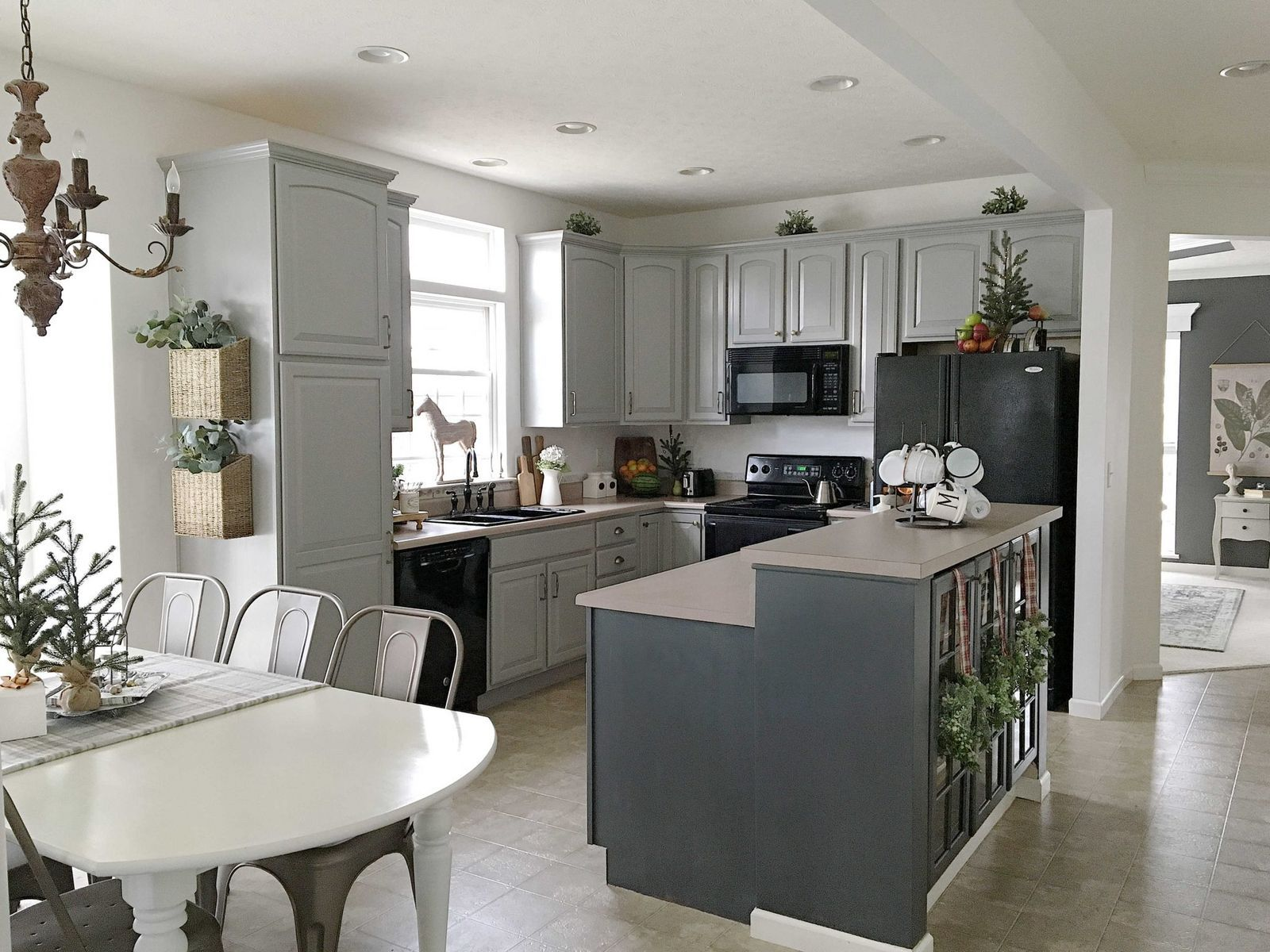 15 Ways to Redo Your Kitchen Cabinets Without Breaking the ...