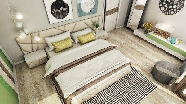 Square-pattern-área-tapete