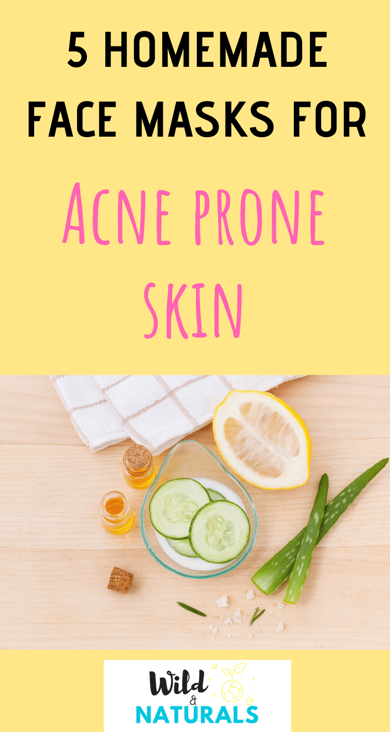 Photo of 5 Homemade Face Masks for Acne-Prone Skin DIY
