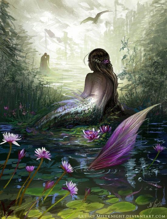 描き込みがヤバい 綺麗な人魚画像 綺麗な画像 人魚姫 イラスト 美術工芸品 美しい人魚