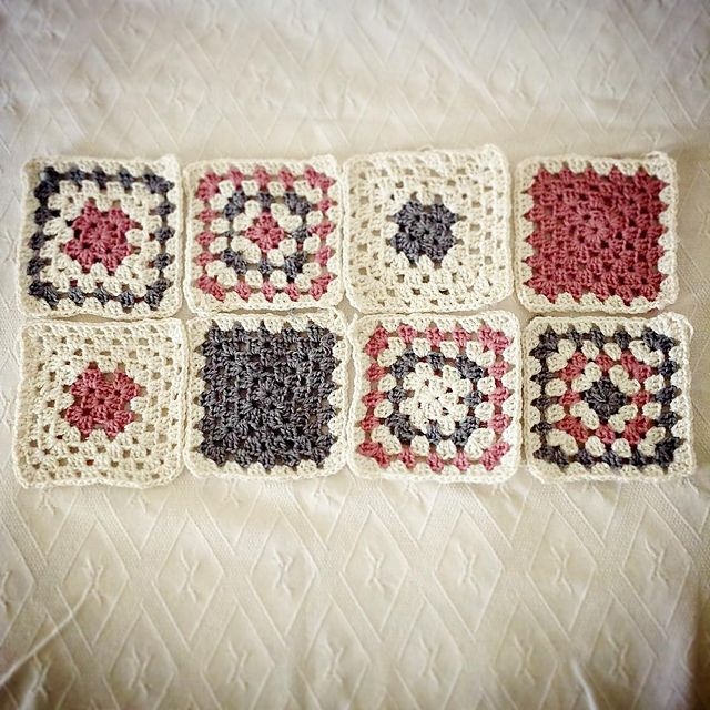 Ravelry: Project Gallery for Granny Square Blanket pattern by Staci ...