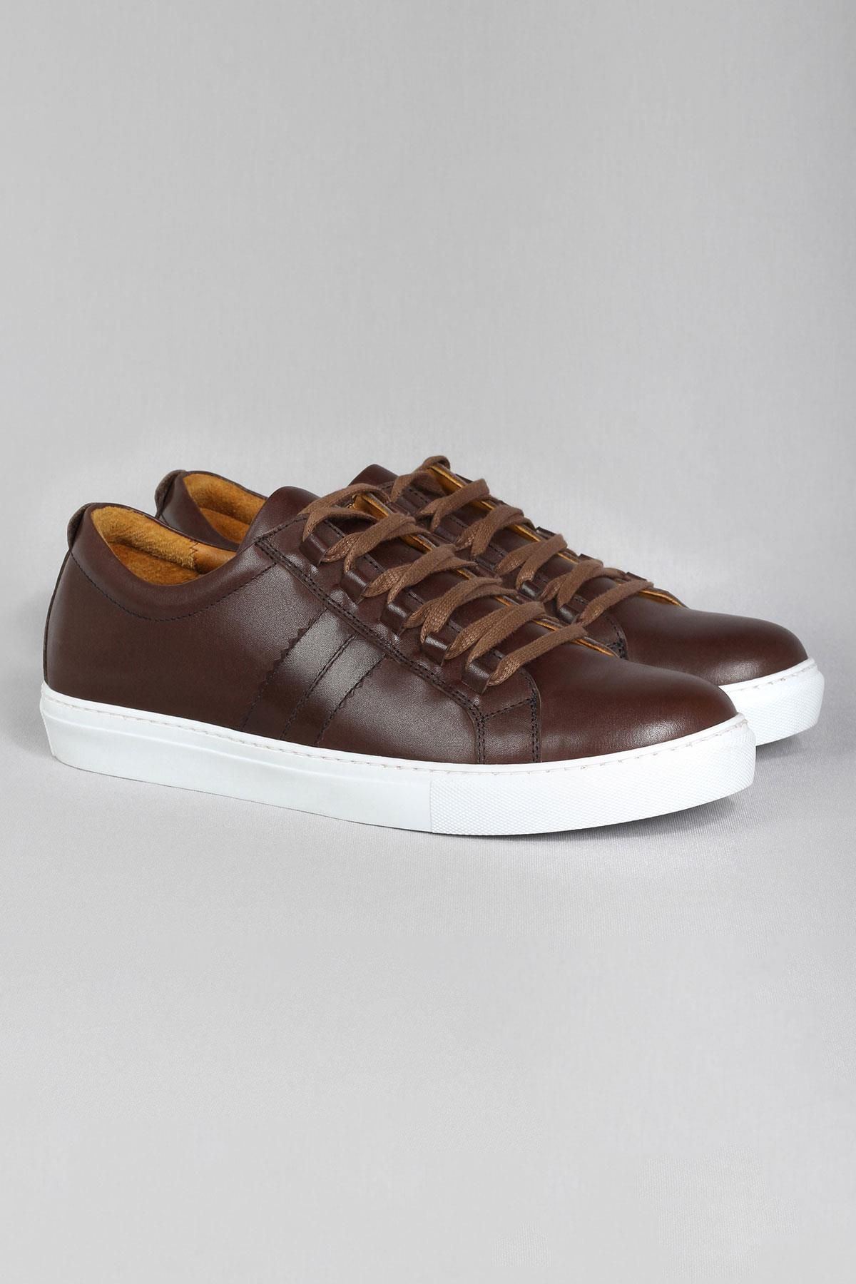Callizio Mens Sport Shoes Genuine Leather Casual Sneakers Large Size Italian Design European Male Footwear Be Sport Shoes Men Mens Casual Shoes Casual Sneakers
