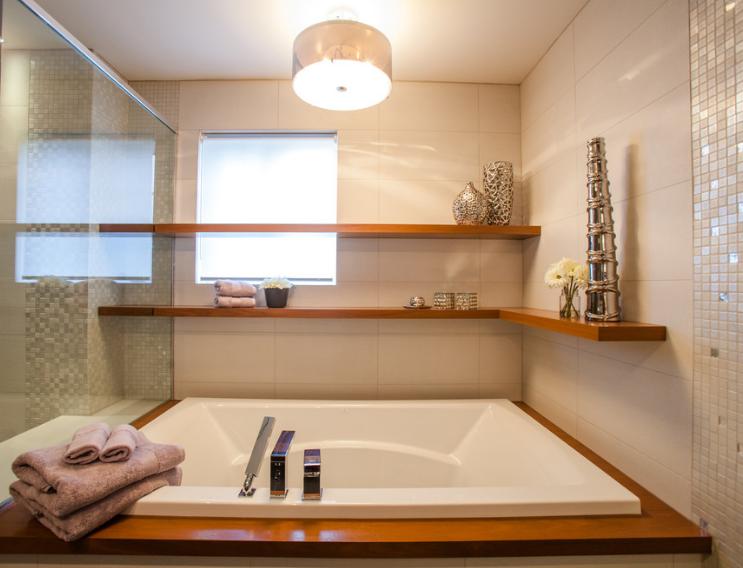 Les plus belles étagères d\'angle | Relooking salle de bain ...
