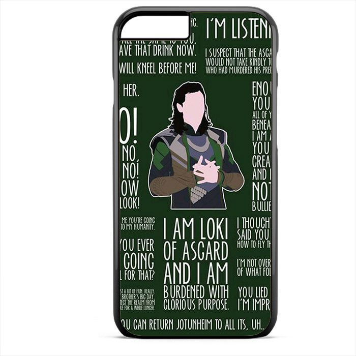 Loki Quotes TATUM-6627 Apple Phonecase Cover For Iphone SE Case