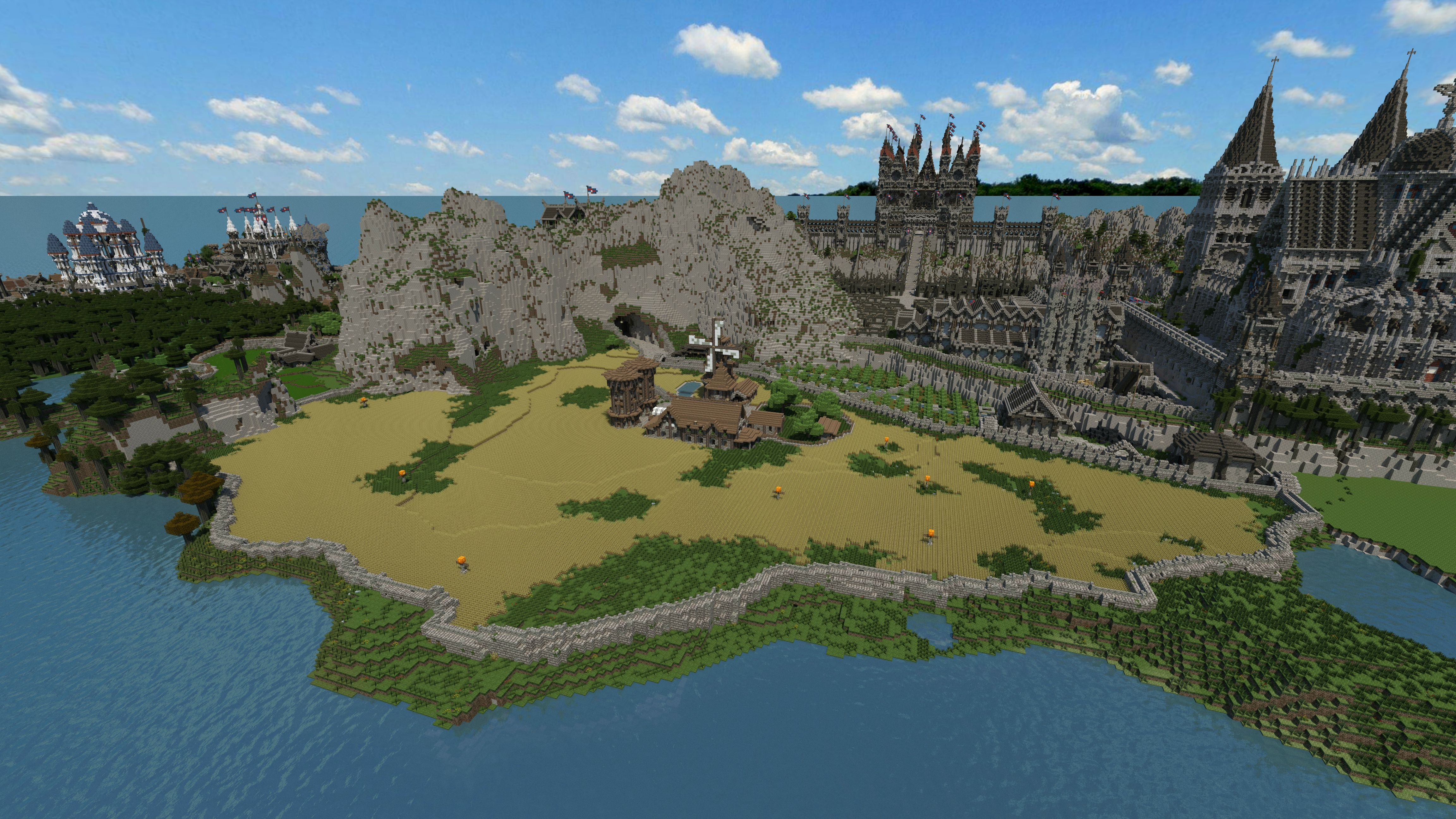 Over Four Years Went Into Building This Gorgeous Minecraft Kingdom