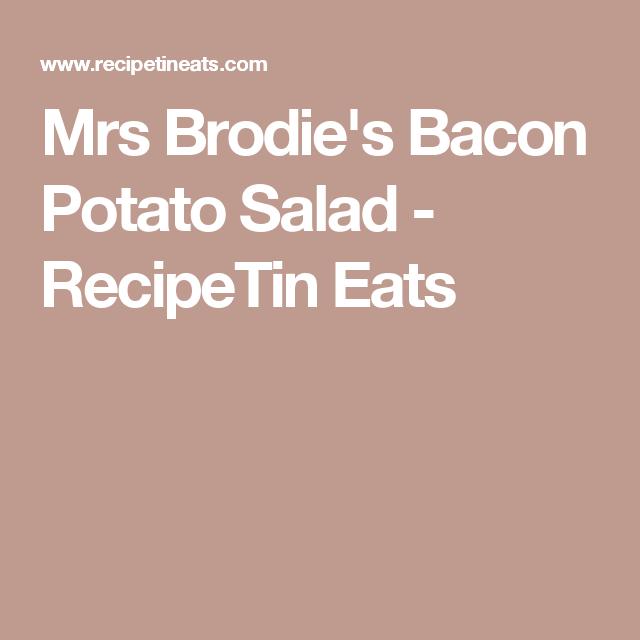 Bacon Potato Salad Recipetin Eats