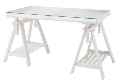 1000 Images About Desk On Pinterest Teatro Adjule And. Ikea Glass Top Desk  Love