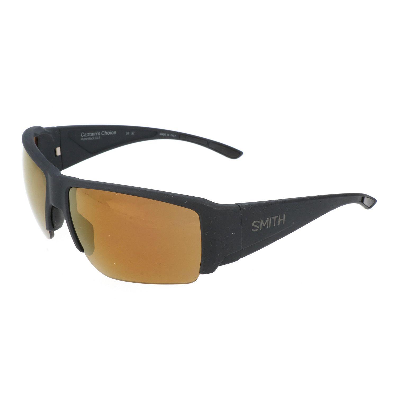 7333af6dee68 Smith    Captains Choice Sunglasses    Matte Black Orange