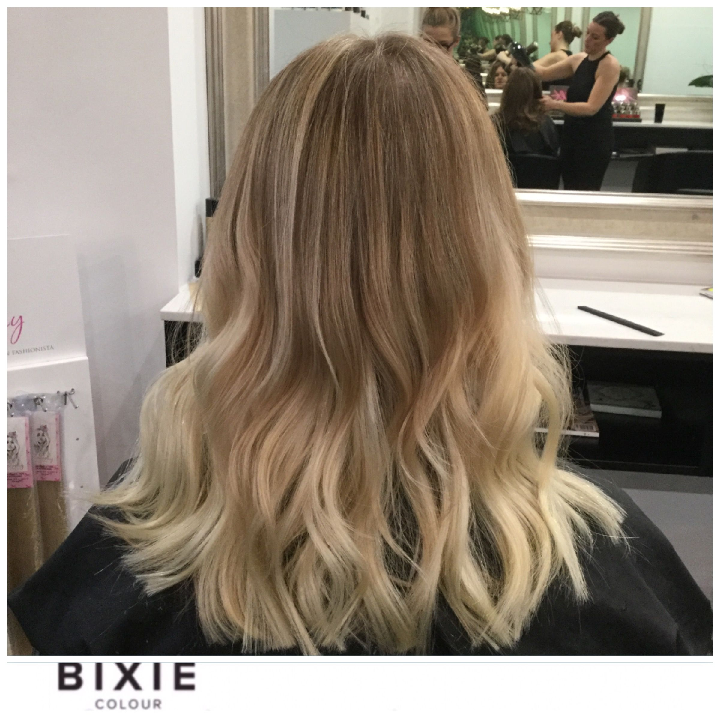Beautiful Colour With A Few Sneaky Hair Extensions Added In Tape