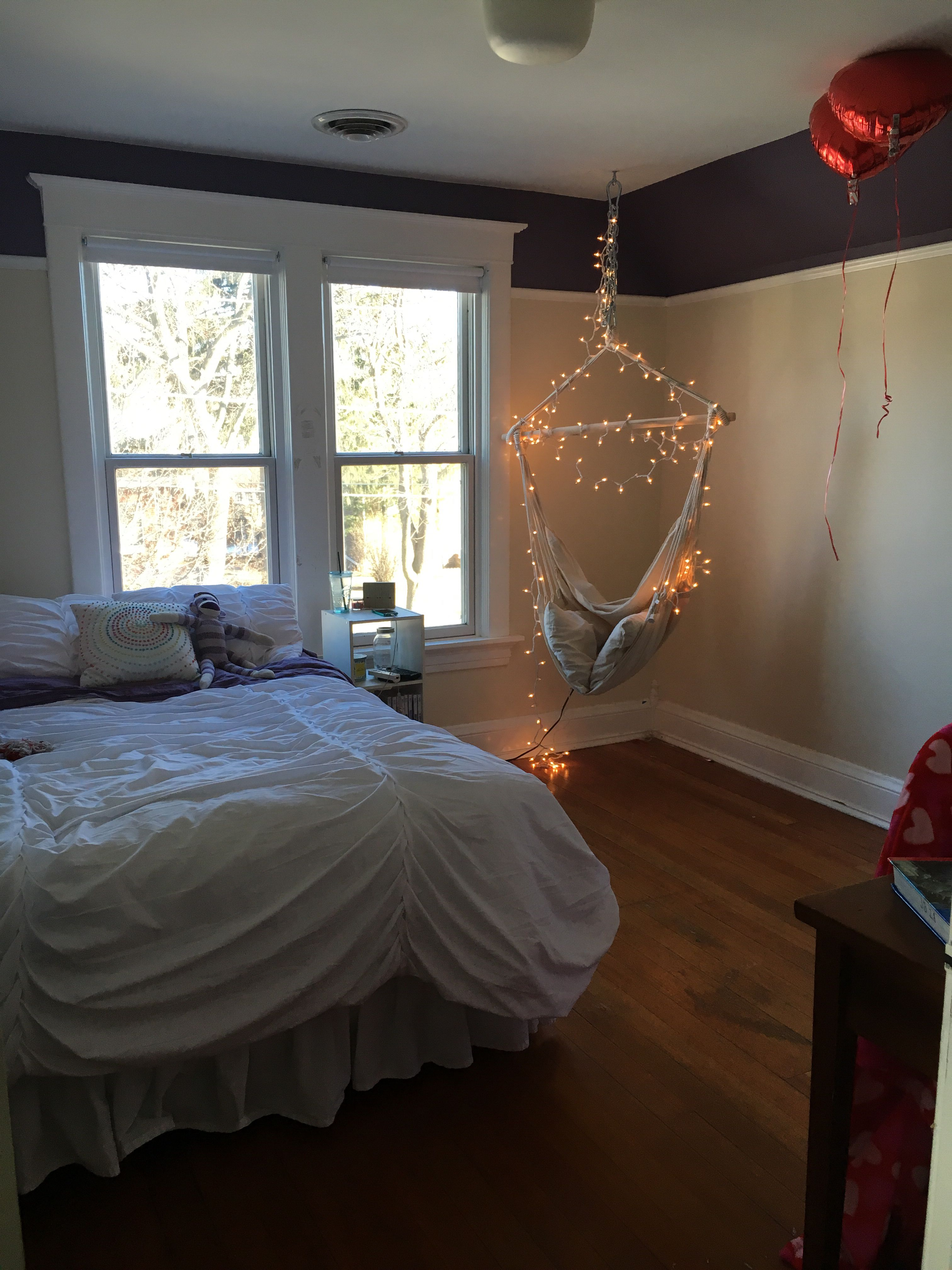 beautiful Artsy Bedrooms Part - 3: bedroom artsy teen girl tumblr