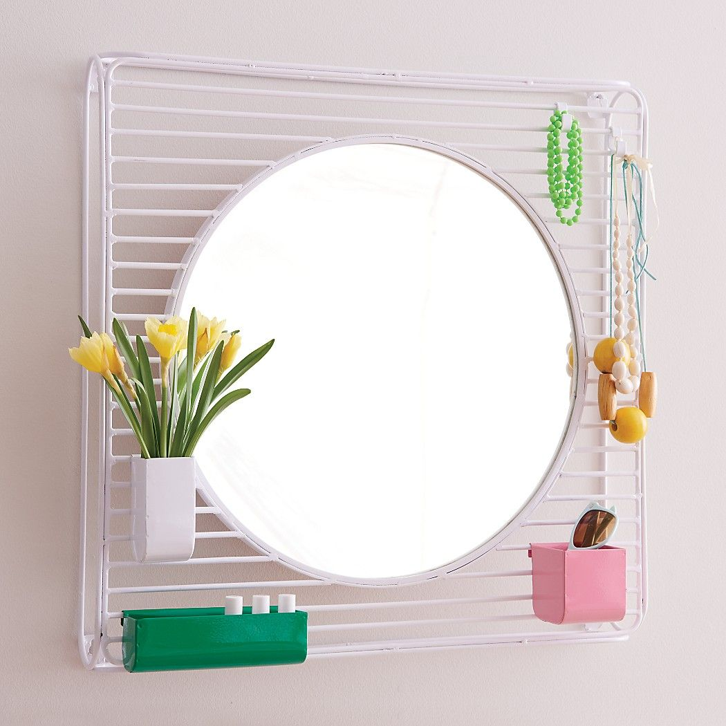 Eric Trine Linear Wall Mirror   Metal mirror and Walls