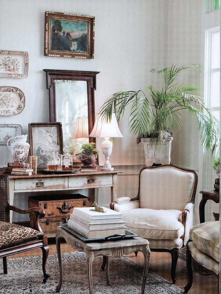 Corner Vignette By Carolyn Westbrook As Seen In Her Book Through