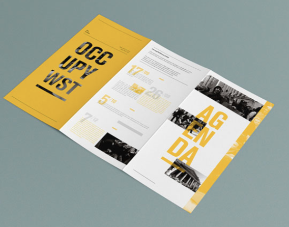 Captivating OCCUPY Wall Street Historical Booklets By Stephane Pianacci, Via Behance