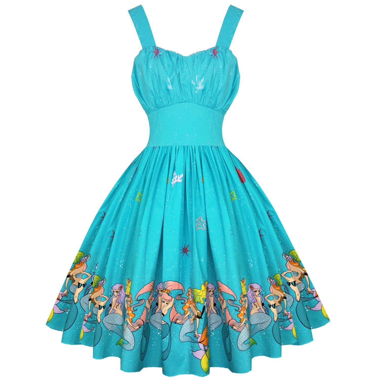 Dancing Days Sophia Mermaid Dress Vintage Or Pin Up