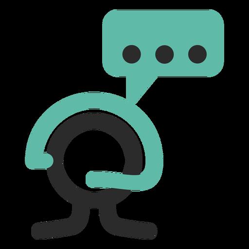 Customer Service Colored Stroke Icon Ad Affiliate Ad Service Icon Stroke Customer Icon Service Logo Merchandise Design