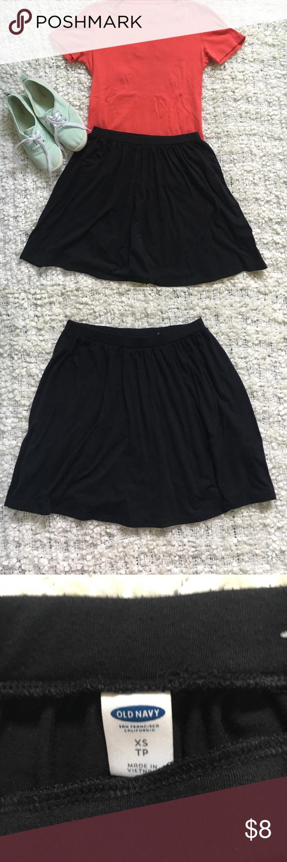 Old navy short black skirt navy shorts navy and rounding