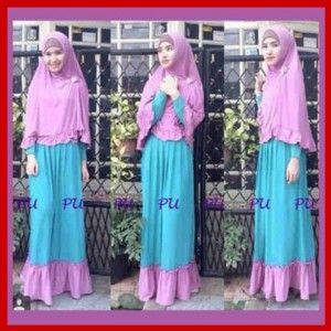 Baju Gamis Muslim Remaja Syari Kb201 Baju Gamis Modern